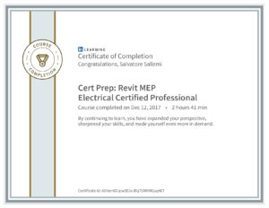 CertificateOfCompletion_CertPrepRevitMepElectricalCertifiedProfessional