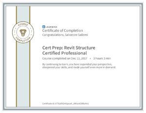 CertificateOfCompletion_CertPrepRevitStructureCertifiedProfessional