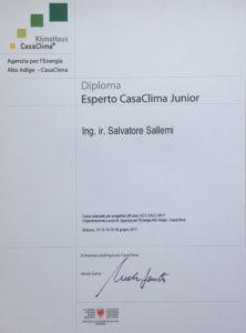 Diploma Casaclima